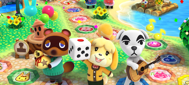animal crossing amiibo party artwork