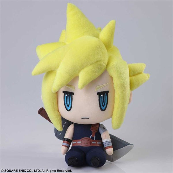 Cloud Strife peluche 1