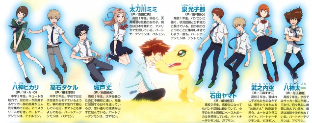 Digimon Adventure tri animedia scan