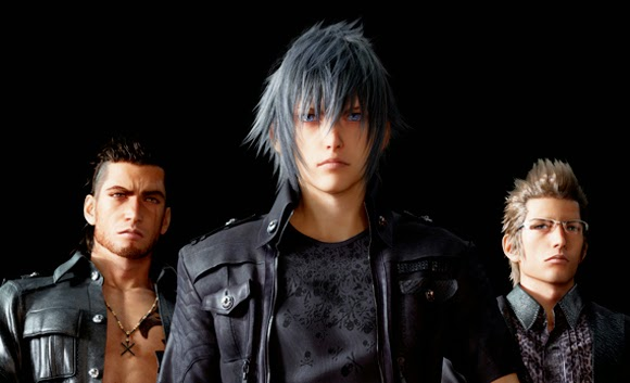 Final Fantasy XV noctis friends