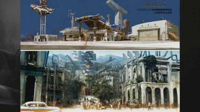 Hammerhead Lestallum Final Fantasy XV