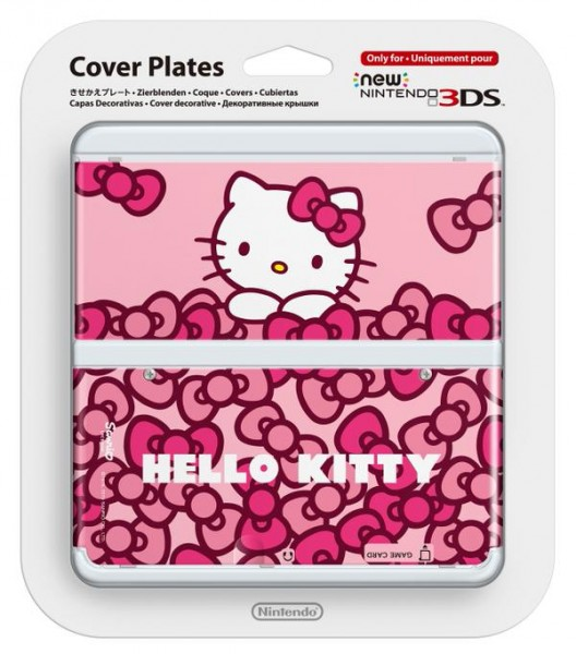 Cubierta de Hello Kitty para New Nintendo 3DS