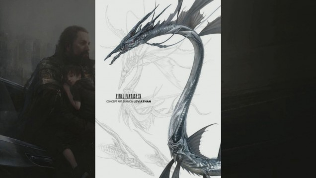 Leviatán en Final Fantasy XV
