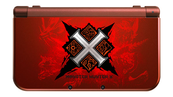 New 3DS XL edición Monster Hunter X