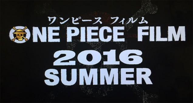 Anuncio de la película de One Piece para verano de 2016