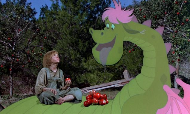 Remake de Pedro y el dragón Elliott