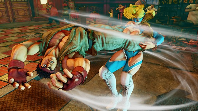 Rainbow Mika Street Fighter V 12