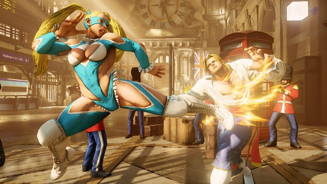 Rainbow Mika Street Fighter V 11