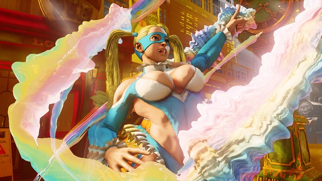 Rainbow Mika Street Fighter V 9