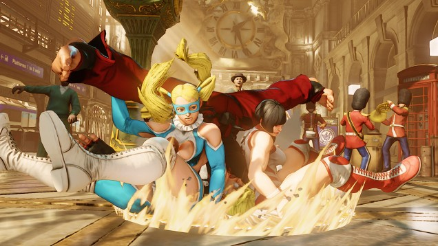 Rainbow Mika Street Fighter V 7