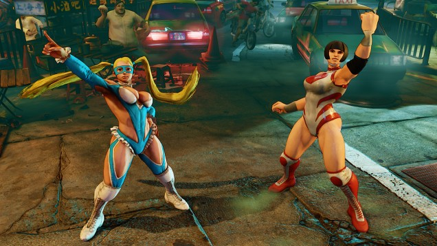 Rainbow Mika Street Fighter V 5