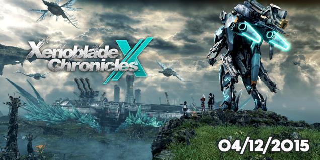 Xenoblade Chronicles X fecha