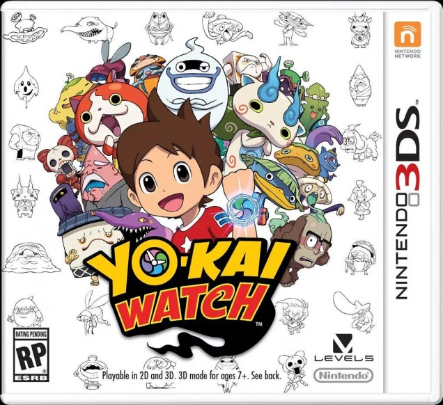 Yo Kai Watch cover USA