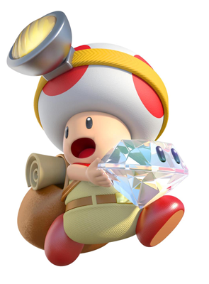 Captain Toad personaje