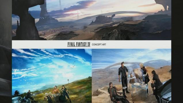 mundo de Final Fantasy XV
