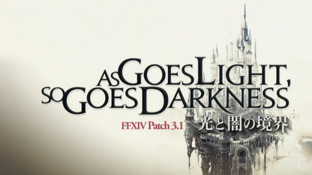 Final Fantasy XIV as goes light so goes darkness