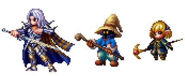 Final Fantasy brave Exvius sprites 1