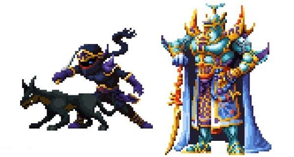 Final Fantasy brave Exvius sprites 2