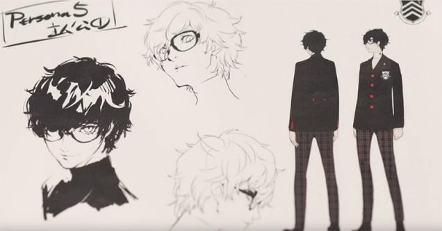 Persona-5-protagonista