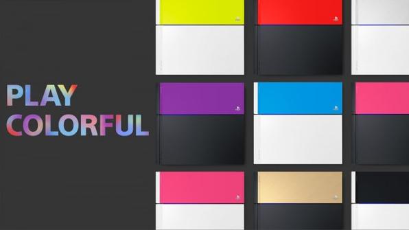 PlayStation 4 nuevos colores
