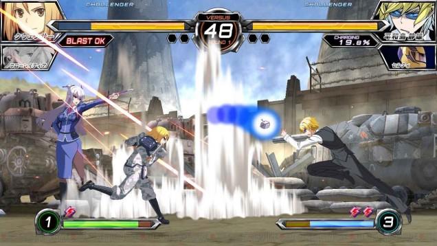 Quenser Barbotage Dengeki Bunko Fighting Climax Ignition 02