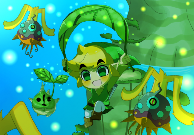 Toon Link Hyrule Warriors Legends fanart