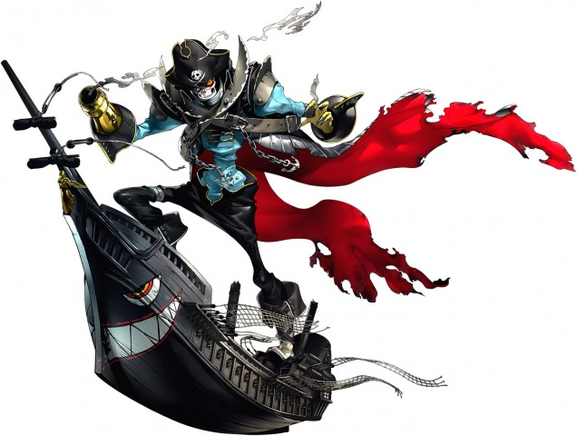 Captain Kidd Persona 5