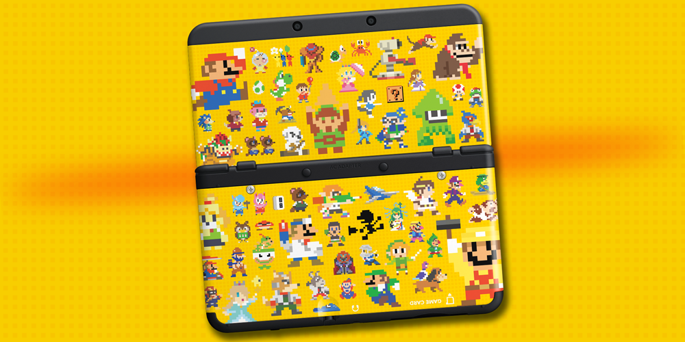 Cubierta New 3DS Mario Maker