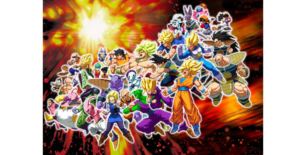 Dragon Ball Z Extreme Butoden characters