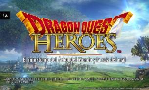 Dragon Quest Heroes menu