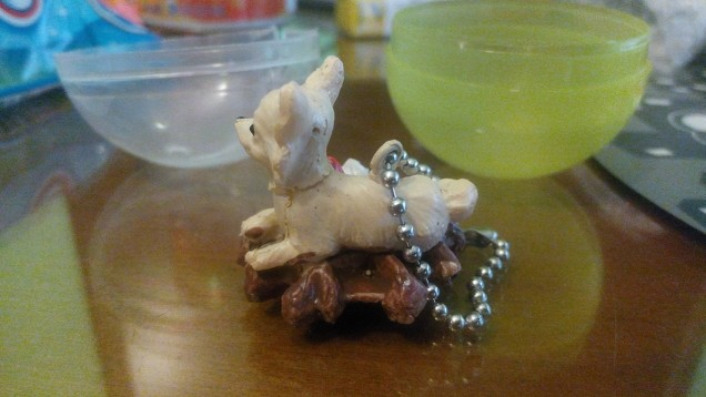 Gashapon Dog Food