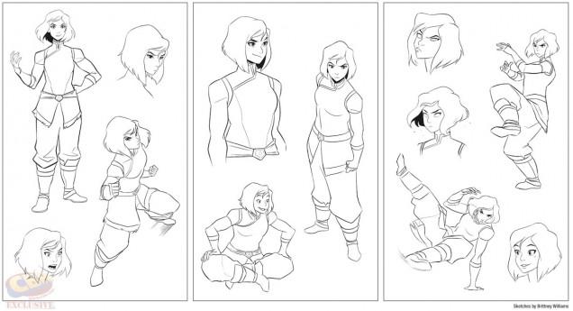 korra-comic-diseño