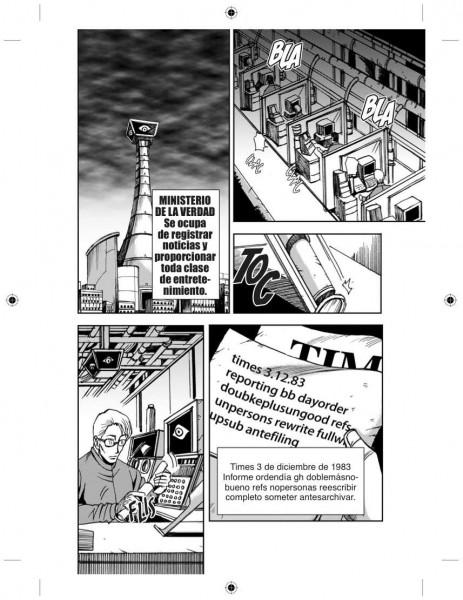 Ministerio de la verdad Manga