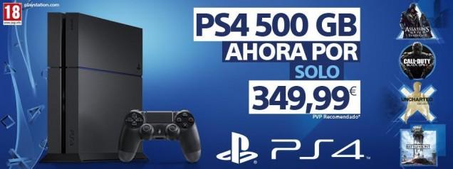 PS4 baja de precio