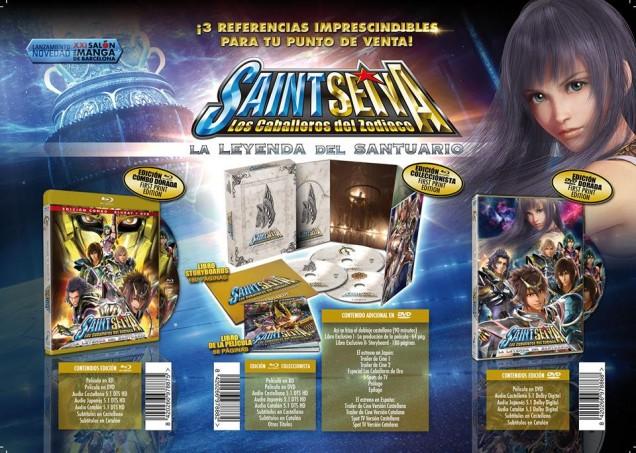saint seiya leyenda santuario selecta vision