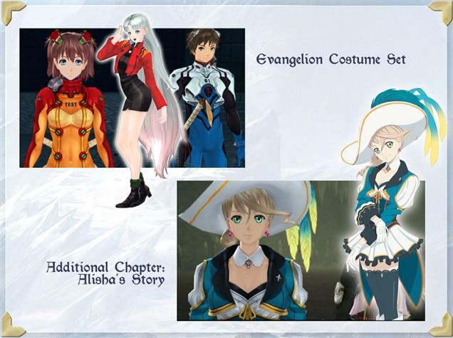 Tales of Zestiria Evangelion DLC