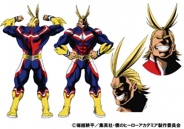 All Might Heroaca anime 1