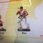 Amiibo Ryu offscreen