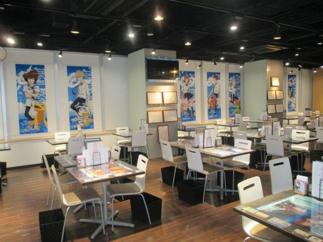 Digimon Adventure tri cafeteria 1