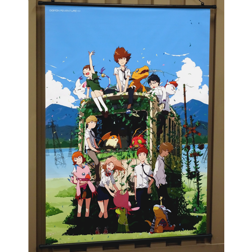 Digimon Adventure tri wall scroll 02