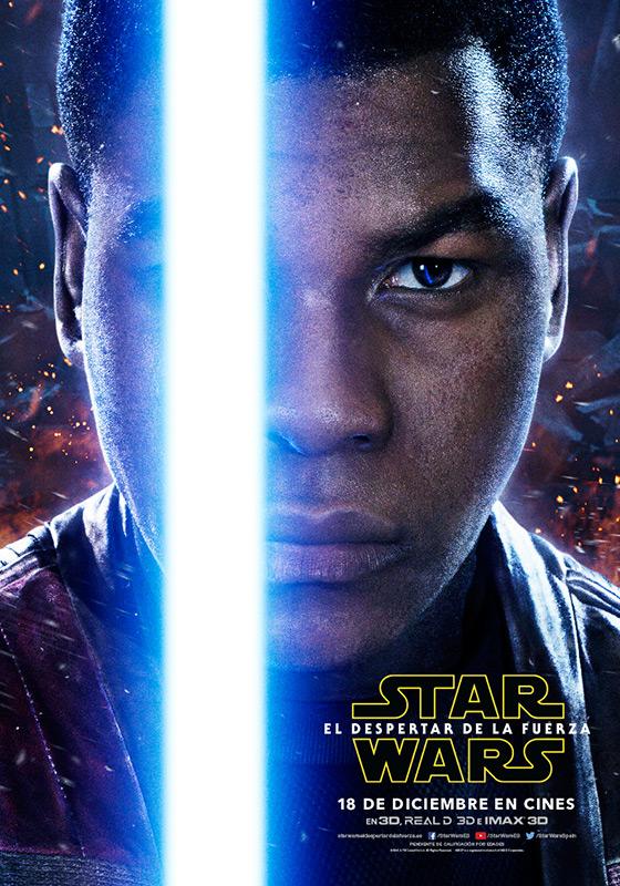 Finn Star Wars El despertar de la fuerza