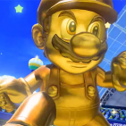 gold mario tennis ultra smash