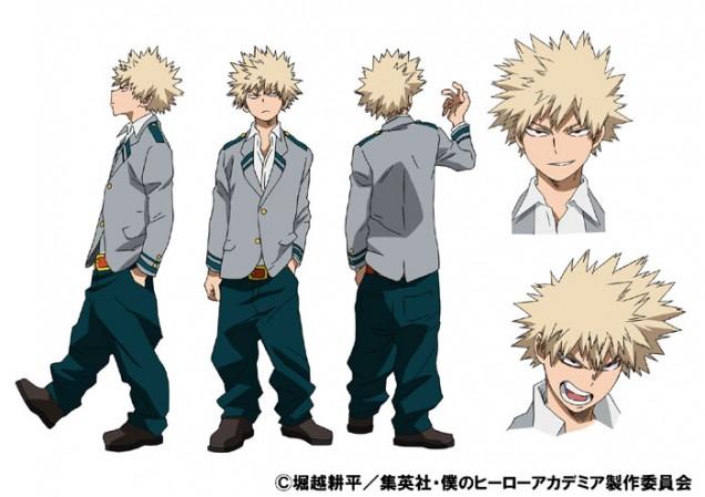 Resultado de imagen de personajes boku no hero academia bakugo