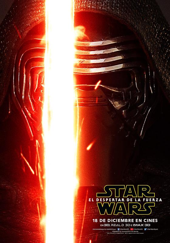 Kylo Ren Star Wars el despertar de la fuerza