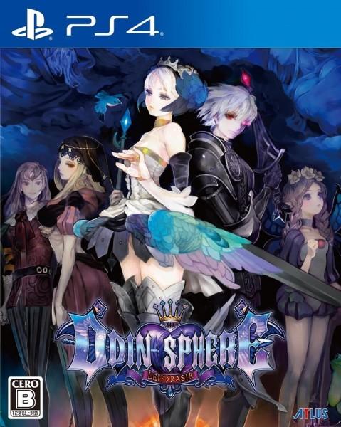 Odin Sphere Leifthrasir JP cover PS4