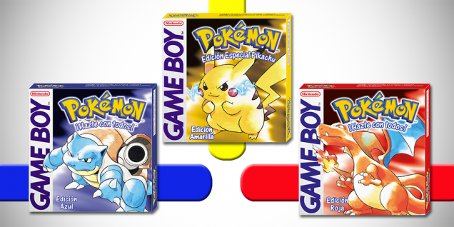 Pokemon Rojo Azul Amarillo 3DS