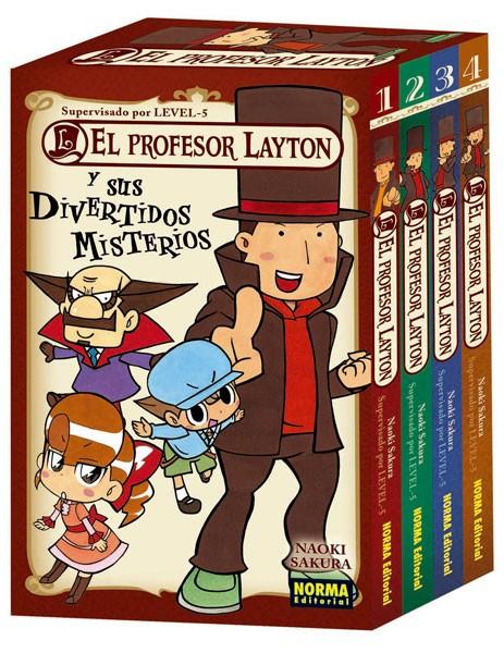 Profesor Layton Divertidos Misterios Norma