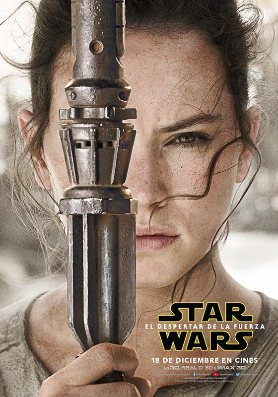 Rey, Star Wars el despertar de la fuerza