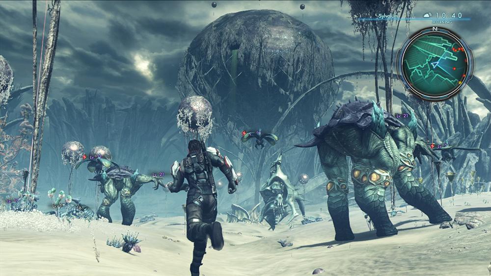 Xenoblade Chronicles X paisajes