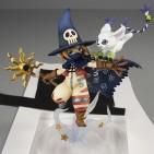 Wizardmon Gatomon figura GEM 1